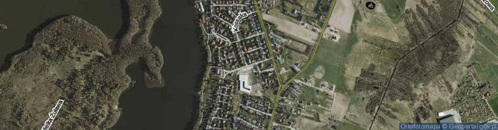Zdjęcie satelitarne Sucharskiego Henryka, mjr. ul.