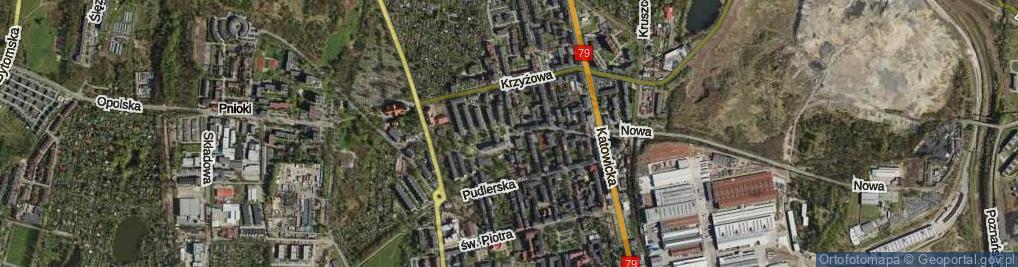 Zdjęcie satelitarne św. Pawła