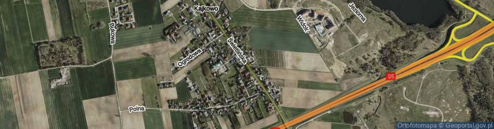 Zdjęcie satelitarne Świetlińska