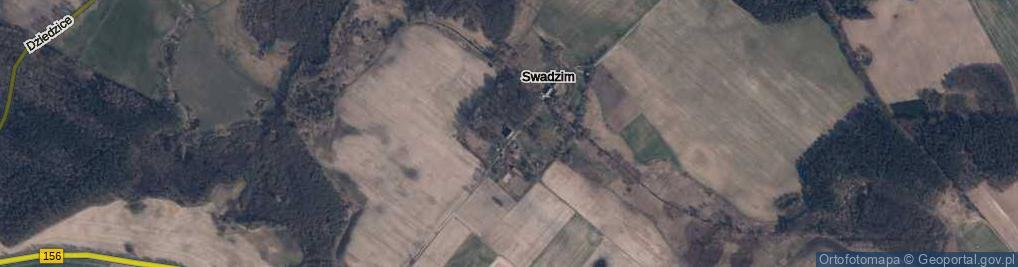 Zdjęcie satelitarne Swadzim ul.