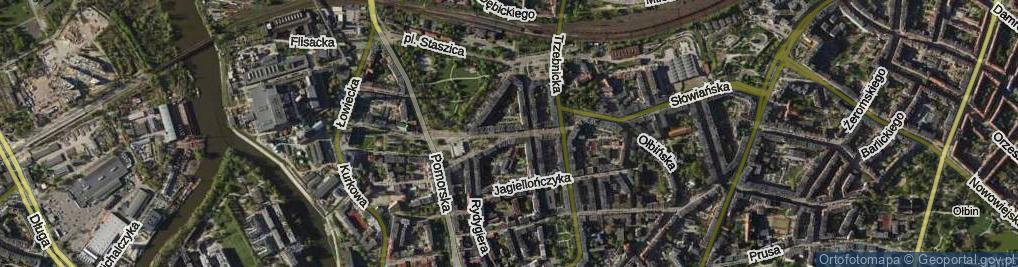 Zdjęcie satelitarne św. Wincentego