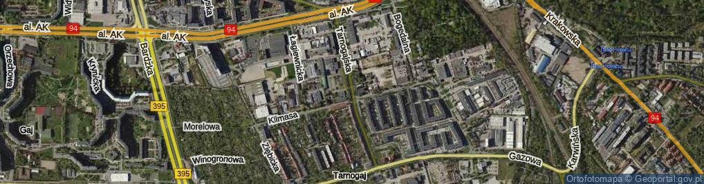 Zdjęcie satelitarne Tarnogajska