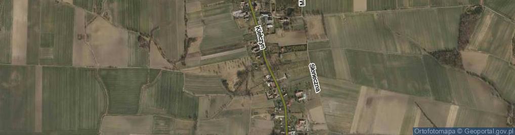 Zdjęcie satelitarne Tuszyn ul.