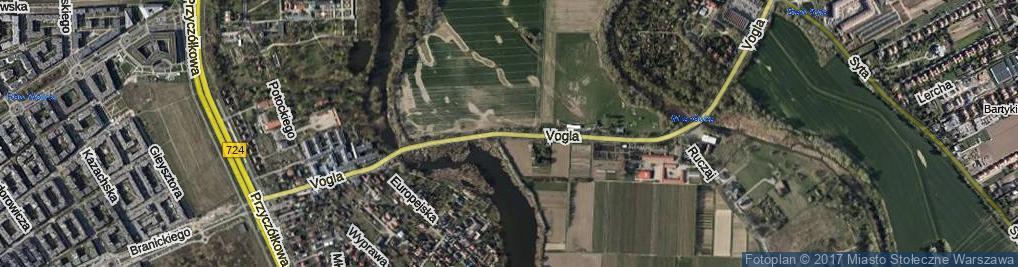 Zdjęcie satelitarne Vogla Zygmunta ul.