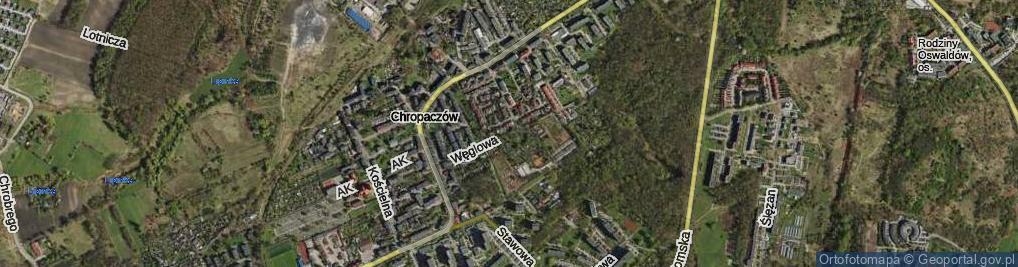 Zdjęcie satelitarne Węglowa