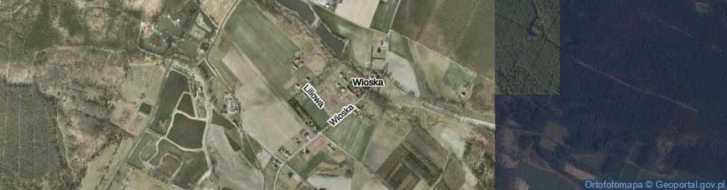 Zdjęcie satelitarne Wioska ul.