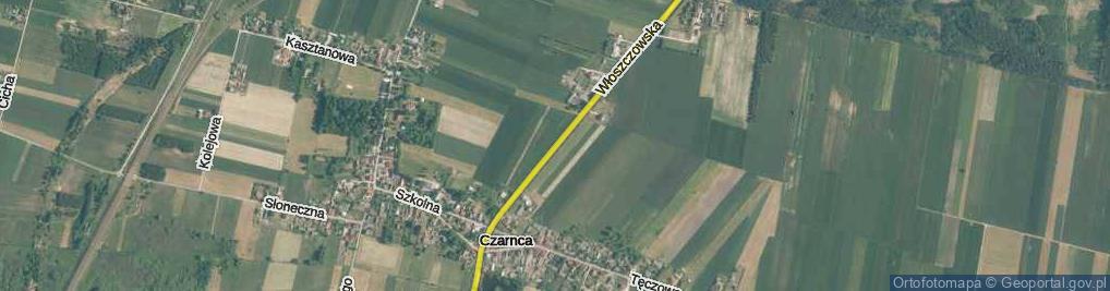 Zdjęcie satelitarne Włoszczowska ul.
