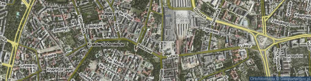 Zdjęcie satelitarne Worcella Stanisława ul.