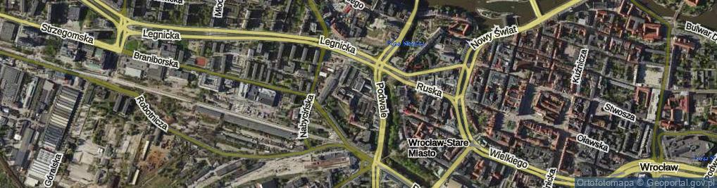 Zdjęcie satelitarne Zelwerowicza Aleksandra