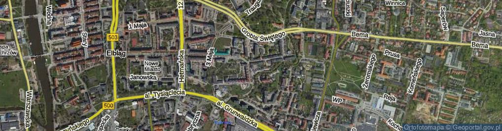 Zdjęcie satelitarne Związku Jaszczurczego