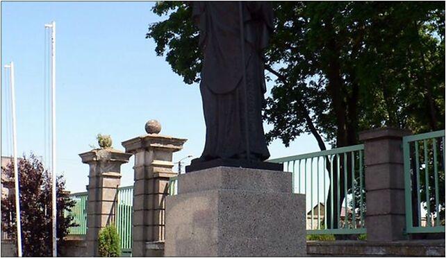 Strzelno, pomnik sw. Wojciecha, 88-320 Bławaty - Zdjęcia