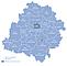 Województwo łódzkie - mapa