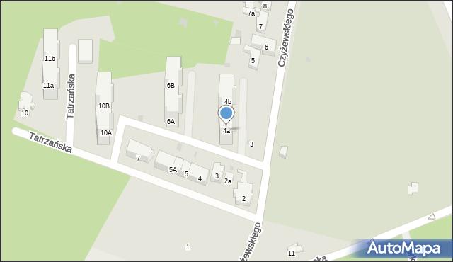 Gdańsk, Gdańca Pawła, 4a, mapa Gdańska
