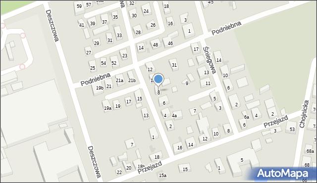 Bydgoszcz, Gradowa, 8, mapa Bydgoszczy