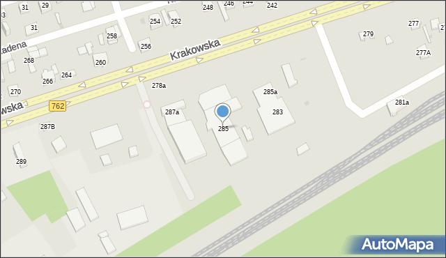krakowska 285 ul 25 801 kielce. Black Bedroom Furniture Sets. Home Design Ideas