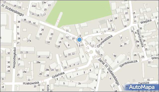 Głubczyce, Plac 1 Maja, 1, mapa Głubczyce