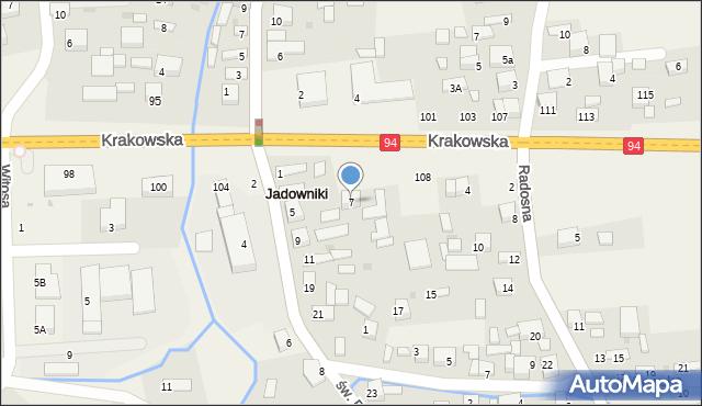 prokop mapa św. Prokopa 7 (ul), 32 851 Jadowniki prokop mapa