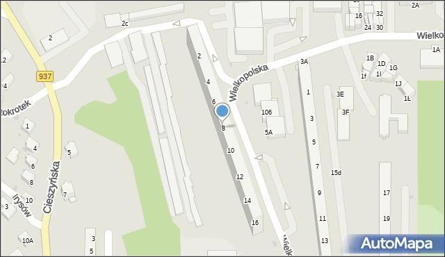 Jastrzębie-Zdrój, Wielkopolska, 8, mapa Jastrzębie-Zdrój