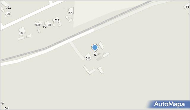 Radzymin, Wyszkowska, 64A, mapa Radzymin