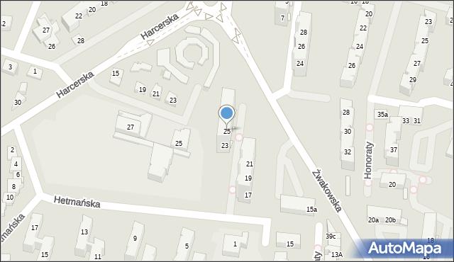 Tychy, Żwakowska, 25, mapa Tychów