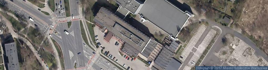 Zdjęcie satelitarne 17 Stycznia ul.
