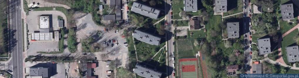 Zdjęcie satelitarne Akademii Umiejętności ul.