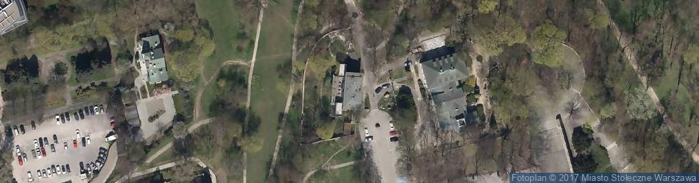 Zdjęcie satelitarne Aleja Na Skarpie al.