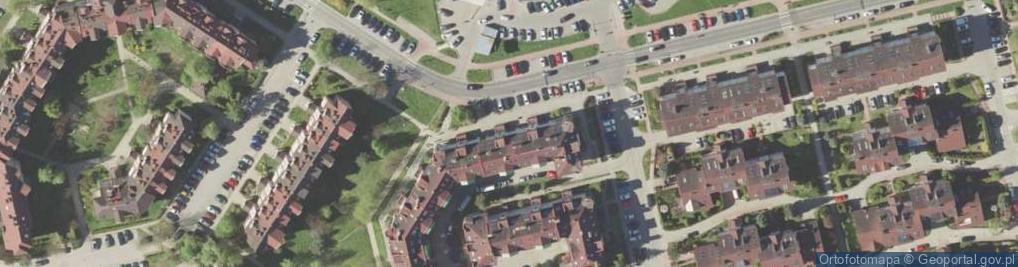 Zdjęcie satelitarne Ametystowa ul.
