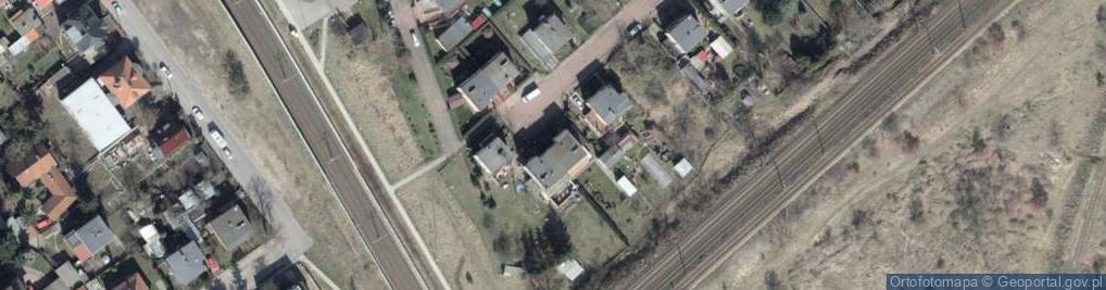 Zdjęcie satelitarne Bagienna ul.