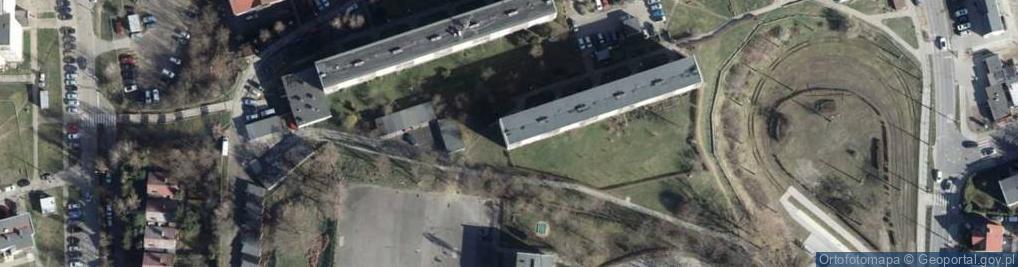 Zdjęcie satelitarne Bohaterów Westerplatte ul.