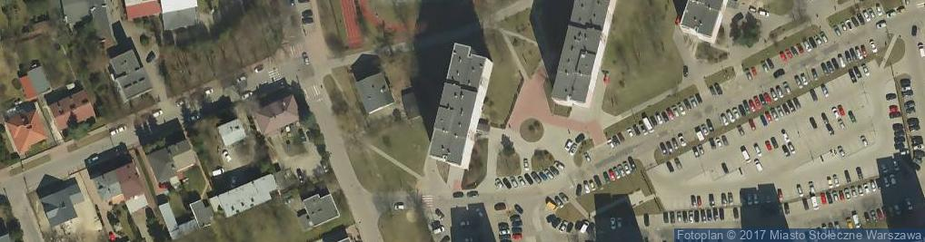 Zdjęcie satelitarne Borowej Góry ul.