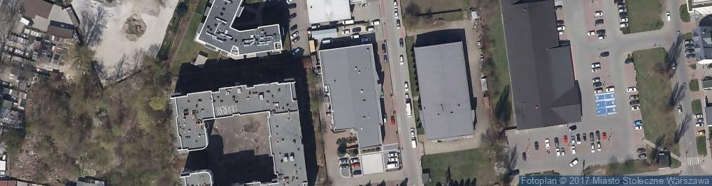 Zdjęcie satelitarne Borzymowska ul.