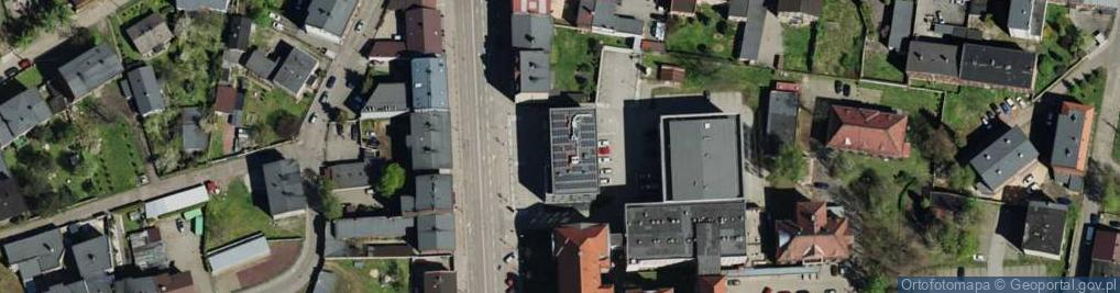 Zdjęcie satelitarne Bytomska ul.