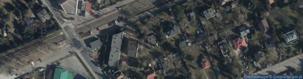 Zdjęcie satelitarne Centralna ul.