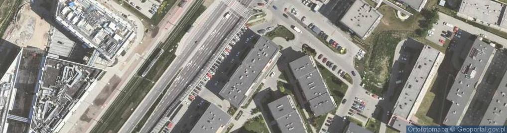 Zdjęcie satelitarne Chmieleniec ul.