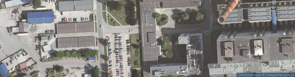 Zdjęcie satelitarne Ciepłownicza ul.