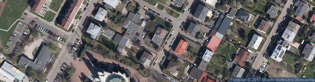 Zdjęcie satelitarne Czardasza ul.