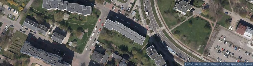 Zdjęcie satelitarne Gościeradowska ul.