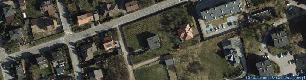 Zdjęcie satelitarne Heykego Leona, dr. ul.