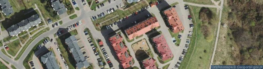 Zdjęcie satelitarne Jeleniogórska ul.