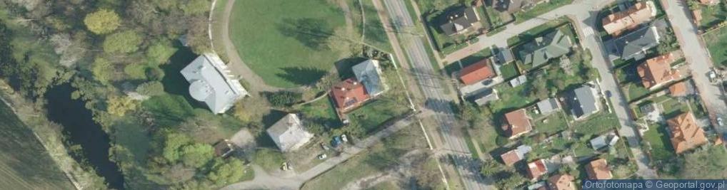 Zdjęcie satelitarne Kazimierska ul.