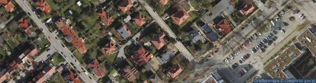 Zdjęcie satelitarne Kisielewskiego Stefana ul.
