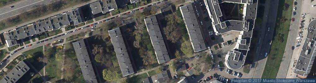 Zdjęcie satelitarne Kirasjerów ul.