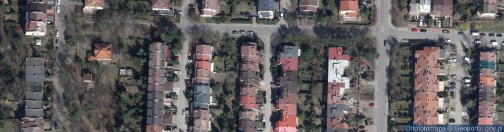 Zdjęcie satelitarne Kosmiczna ul.