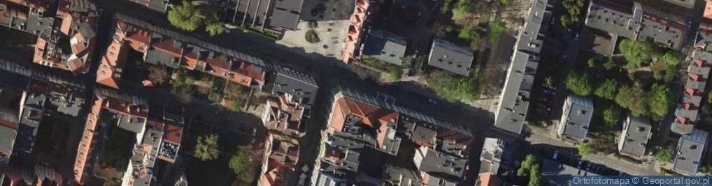 Zdjęcie satelitarne Kotlarska ul.