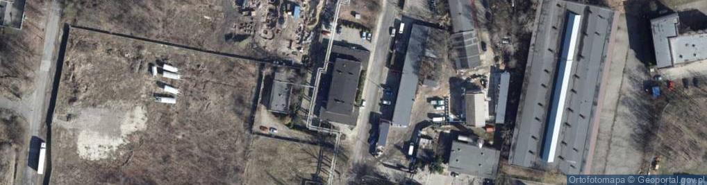 Zdjęcie satelitarne Kolorowa ul.