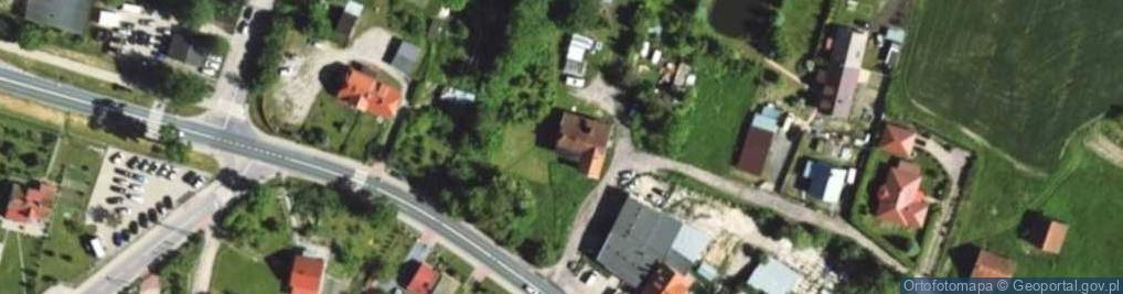 Zdjęcie satelitarne Kruszewiec ul.