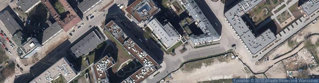 Zdjęcie satelitarne Krowia ul.