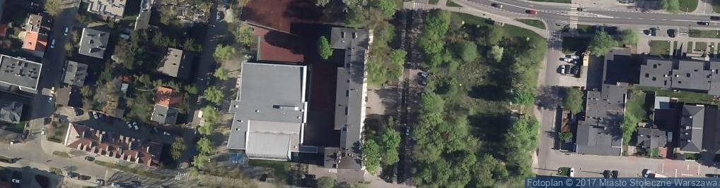 Zdjęcie satelitarne Kwatery Głównej ul.