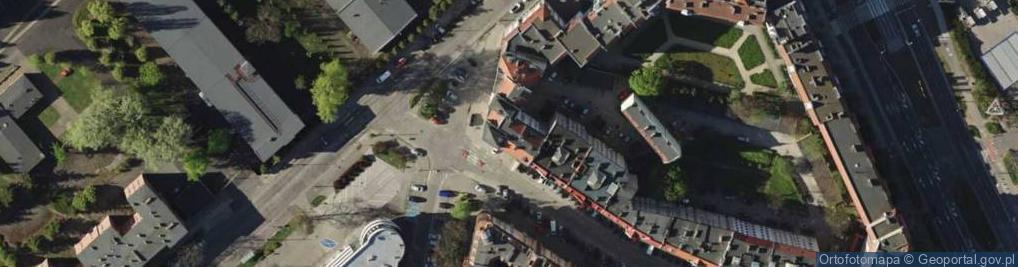 Zdjęcie satelitarne Łęczycka ul.